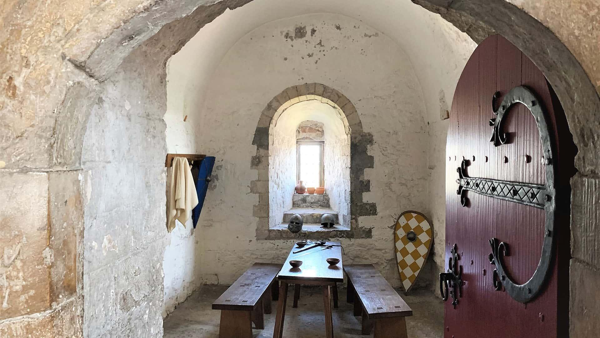 Small room in Dover Castle