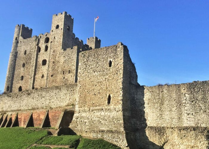 Rochester Castle from outside