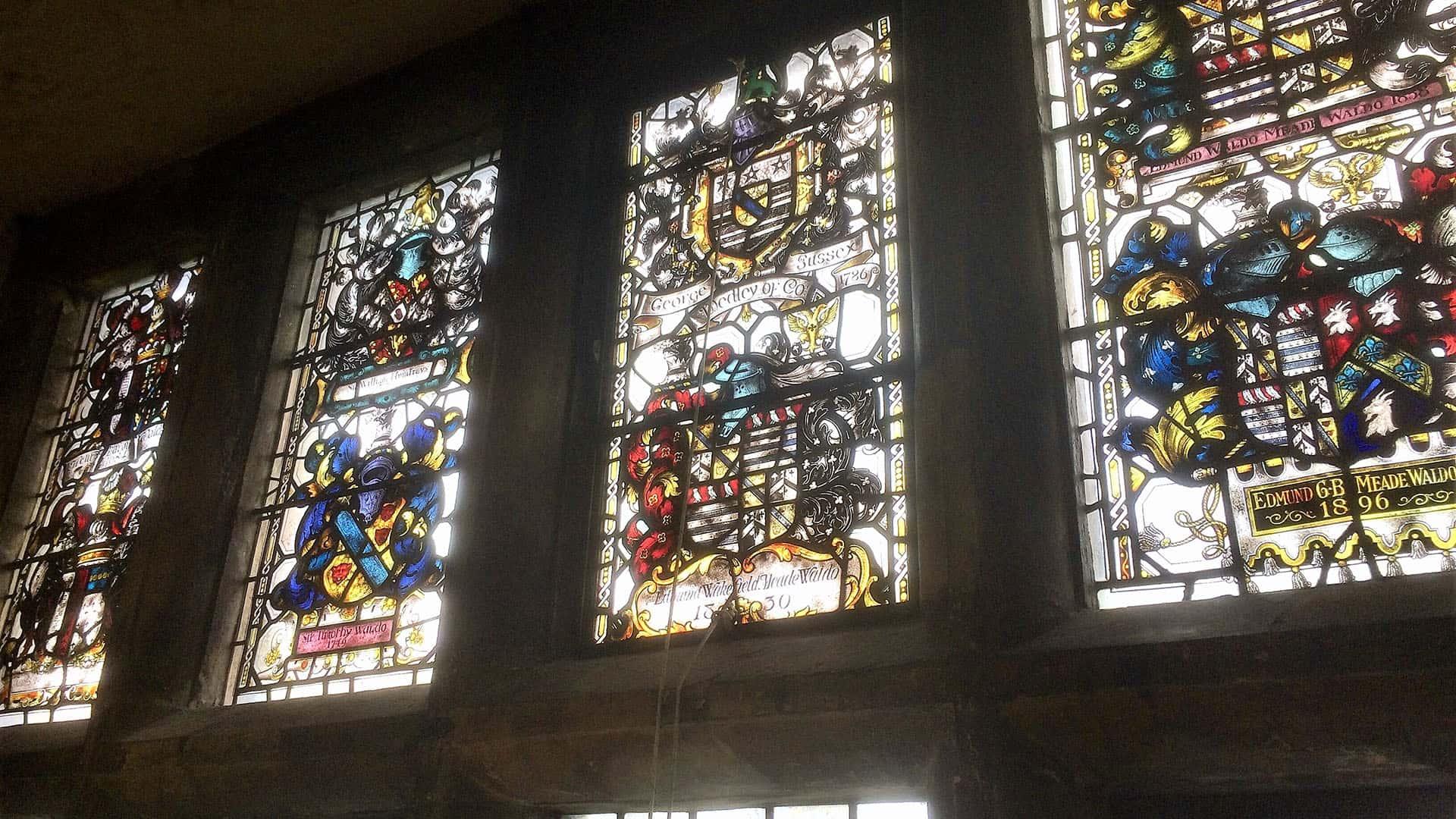 Hever Castle Stain-glass Windows