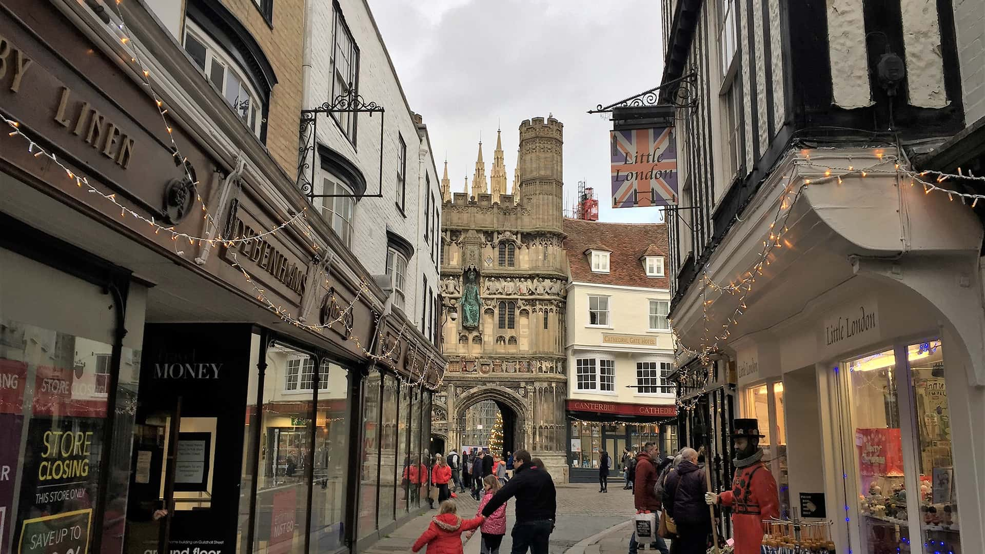 Canterbury Tour In the city