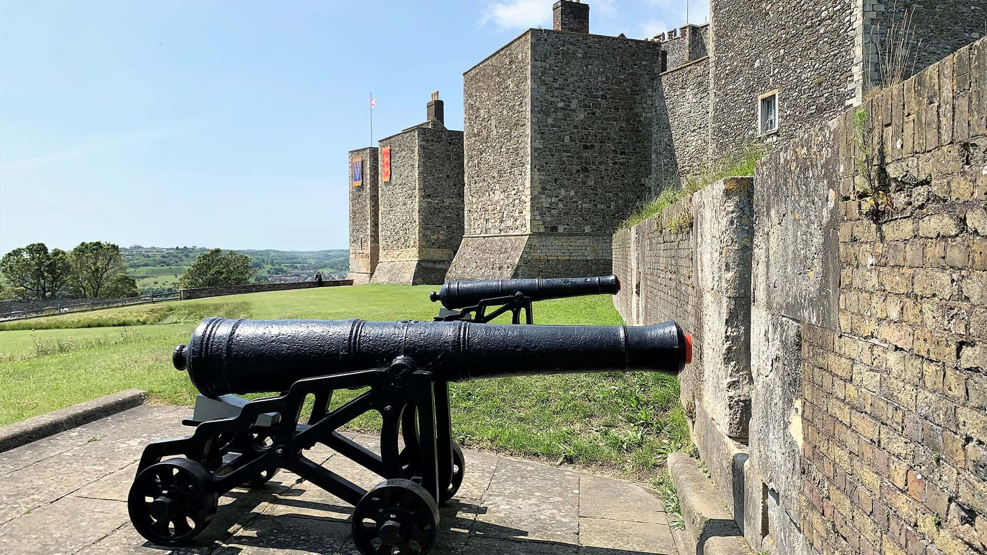 Canons at Dover Castle