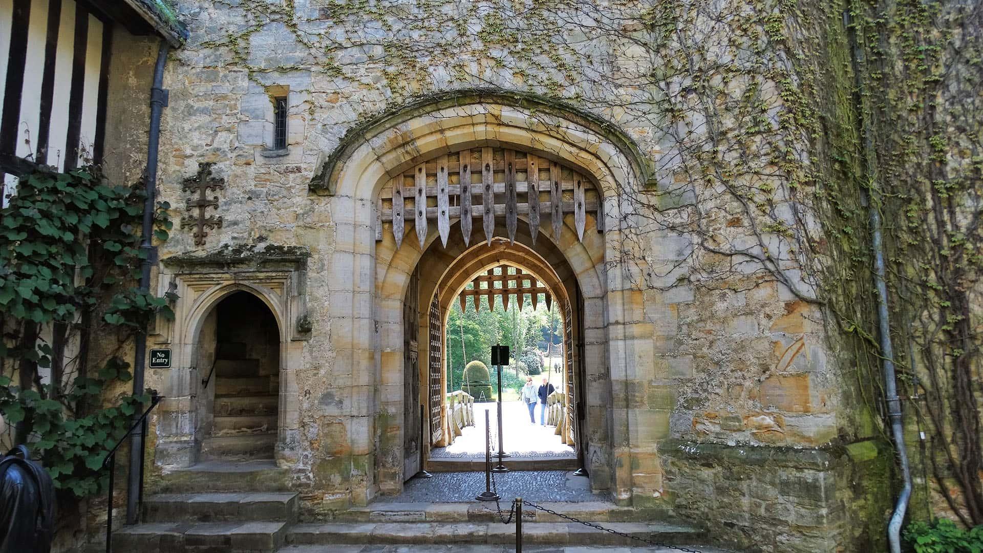 Hever Castle Entrance