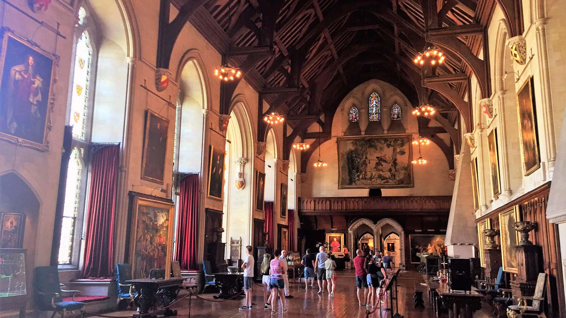 Arundel Castle grand hall