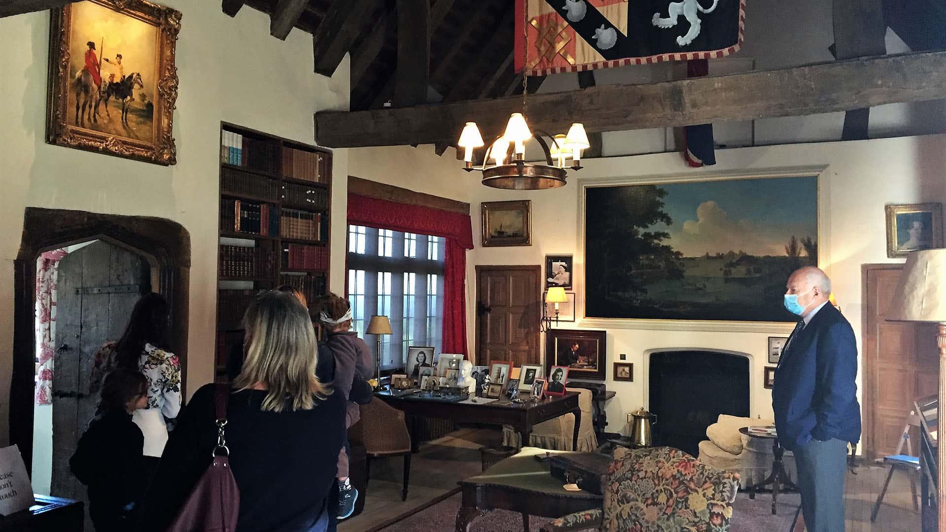 Inside Chartwell House