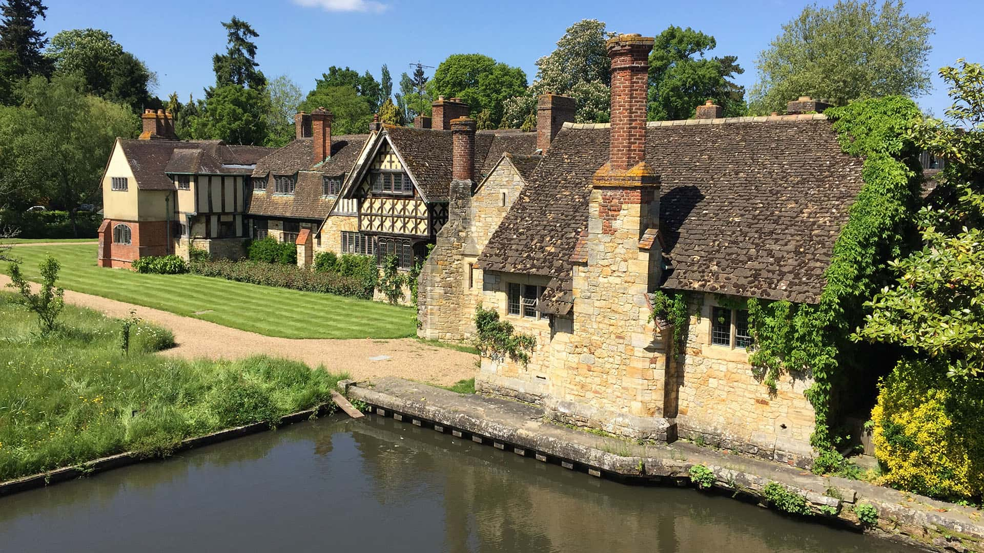 Hever Castle Tudor Buildings