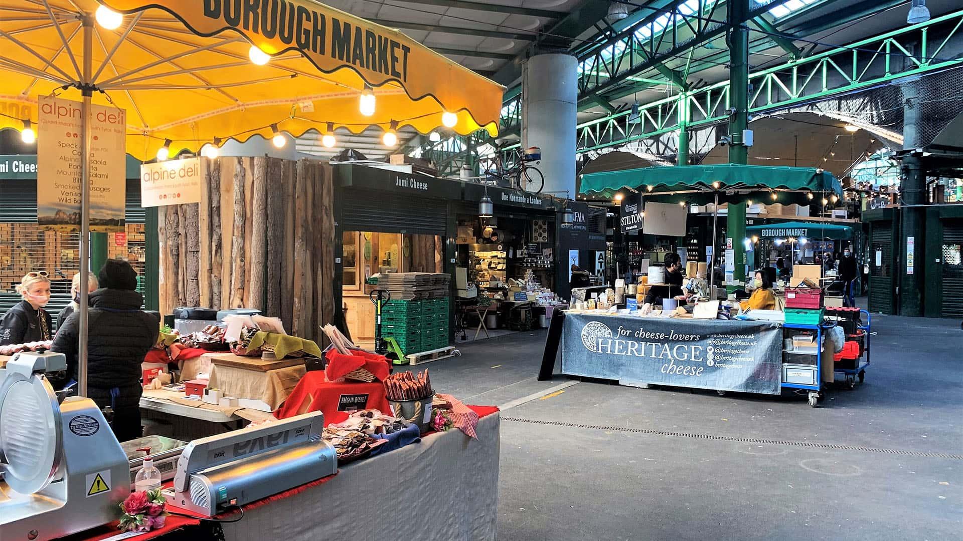 Market in London – London Virtual Tour