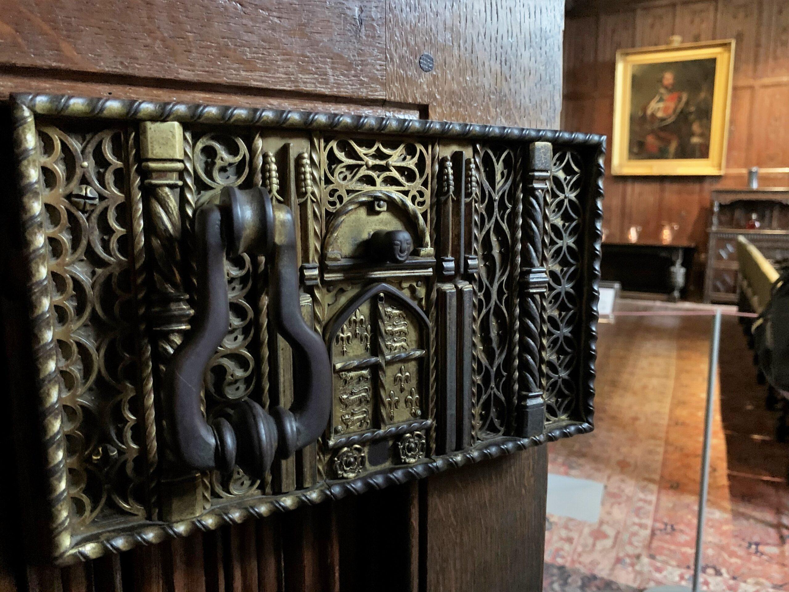 Hever Castle – Heavy door knocker
