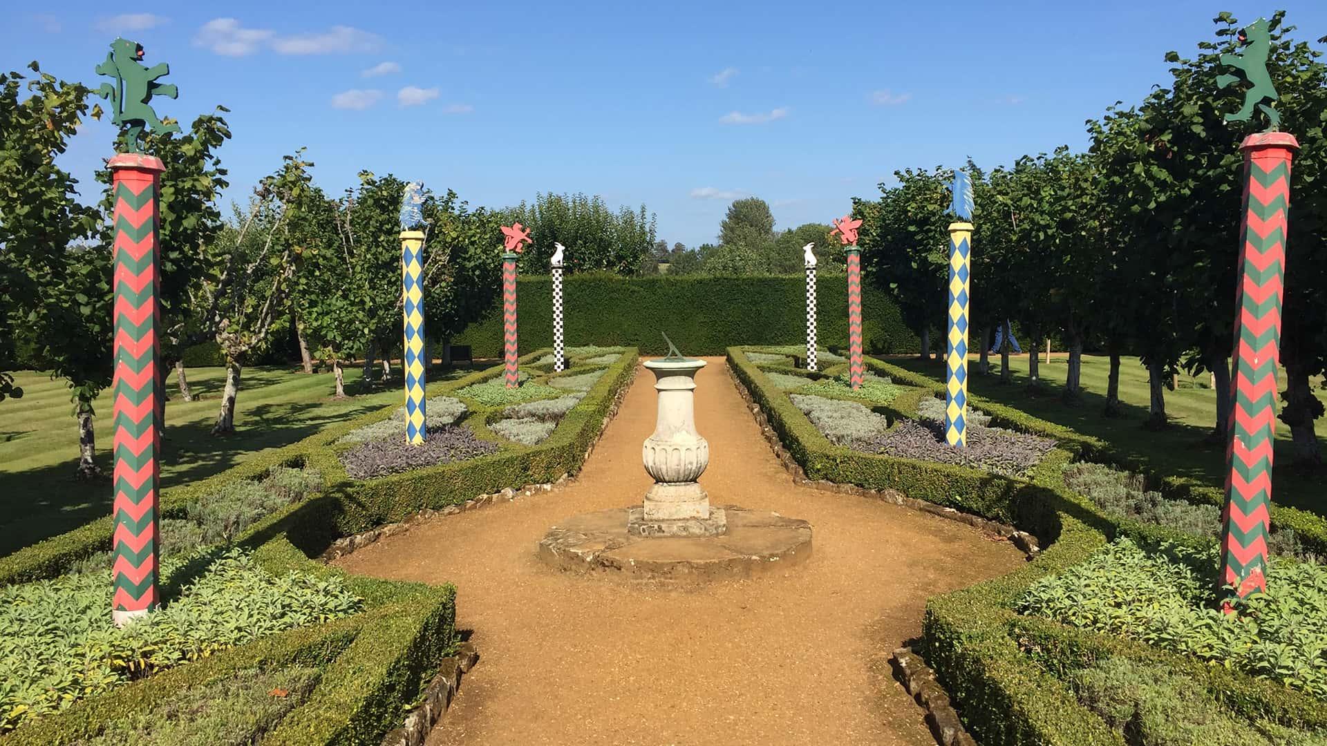 Medieval England Penshurst Place Gardens