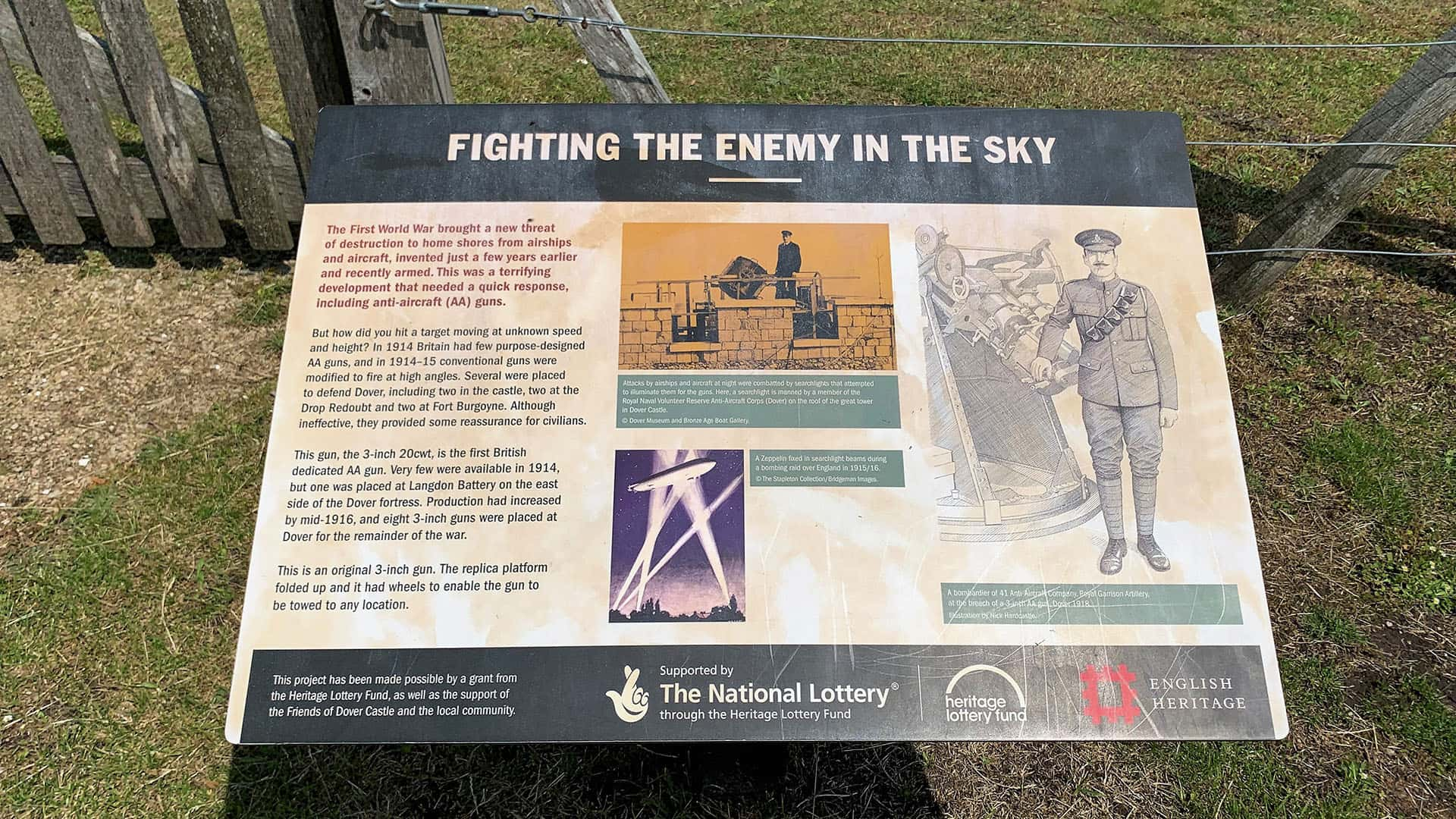 English Heritage – WWII information point