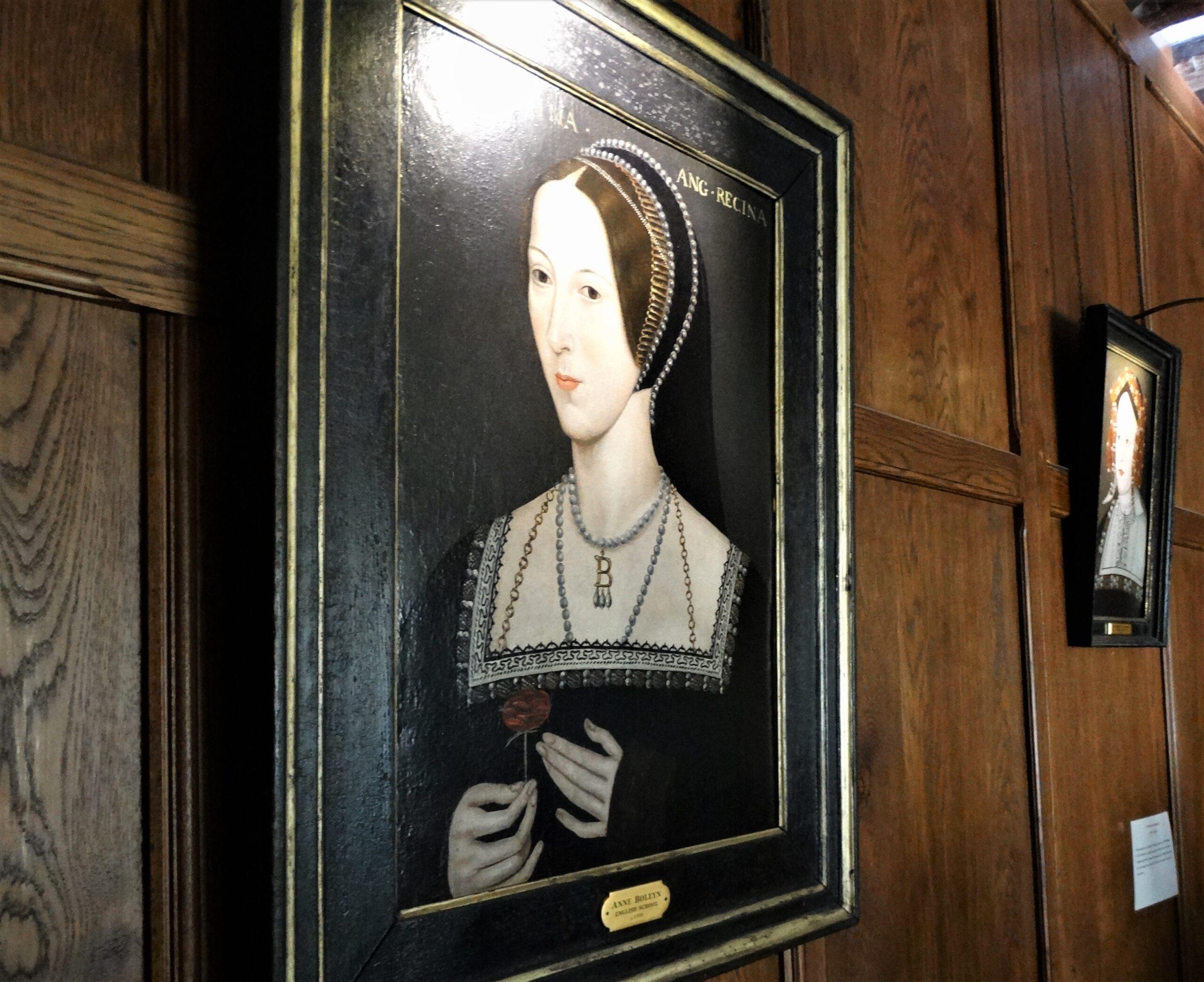 Hever Castle – Portrait of Anne Boleyn