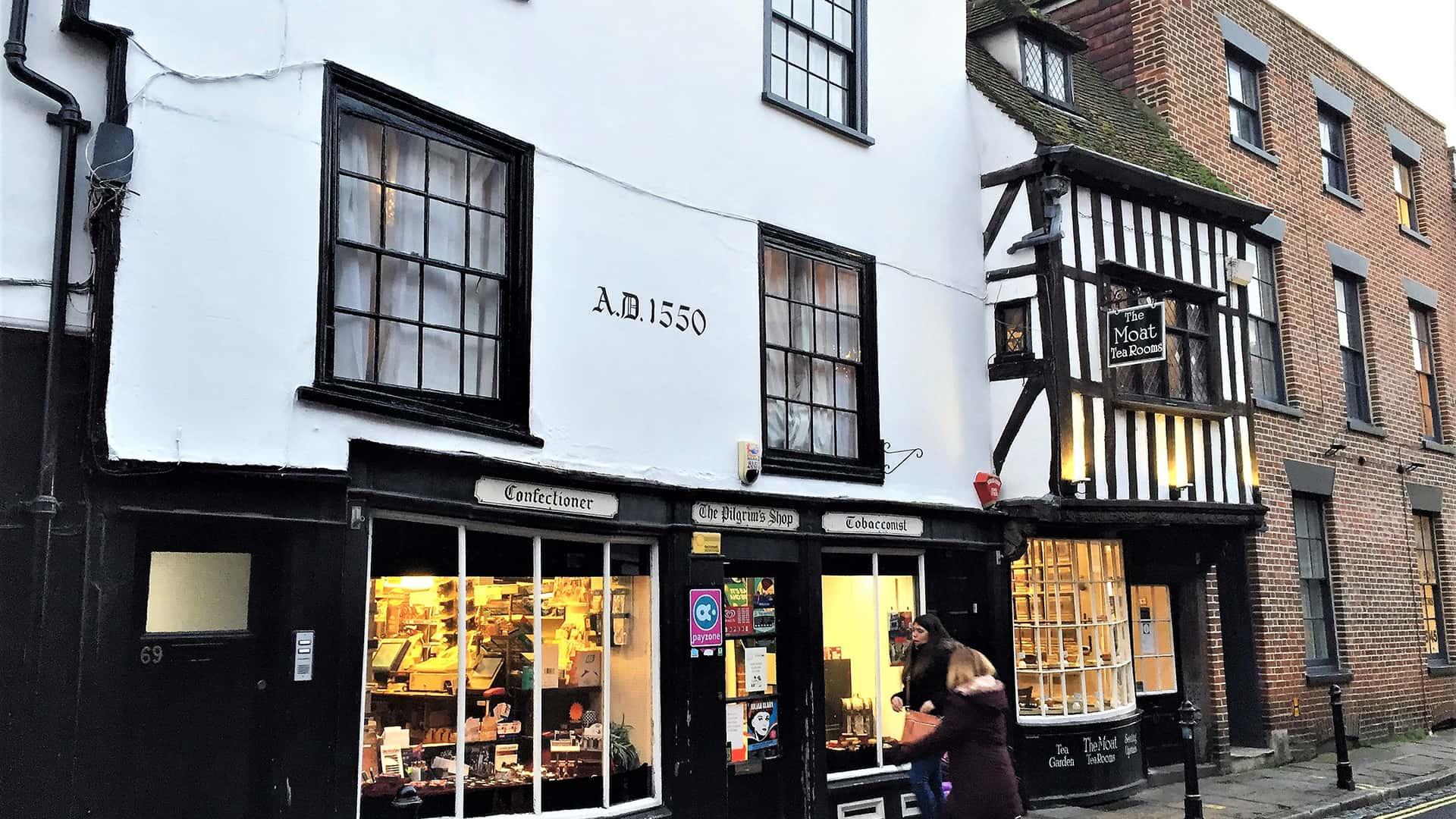 Canterbury Tour – Shops