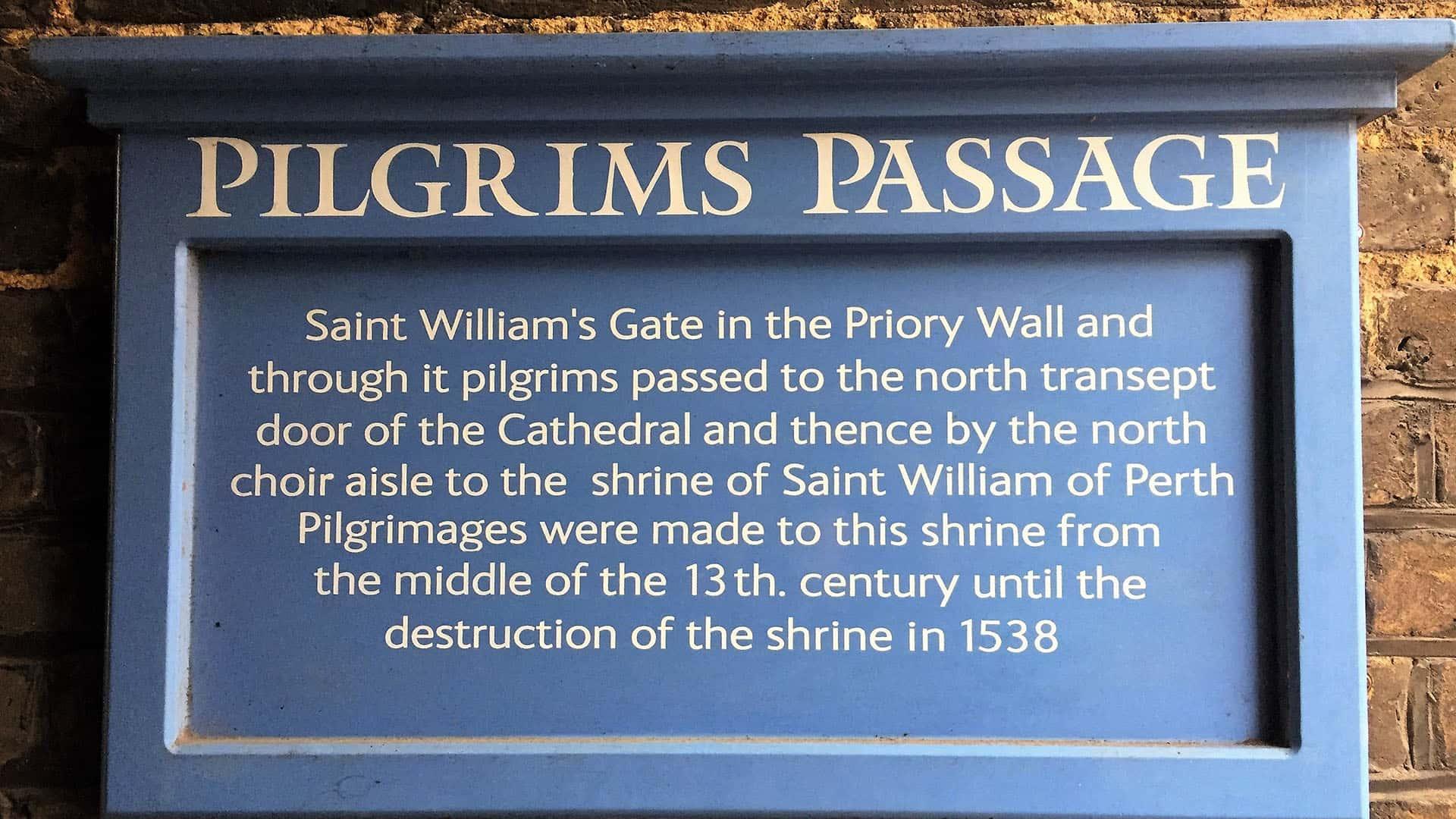 Pilgrim's Passage at Rochester Castle