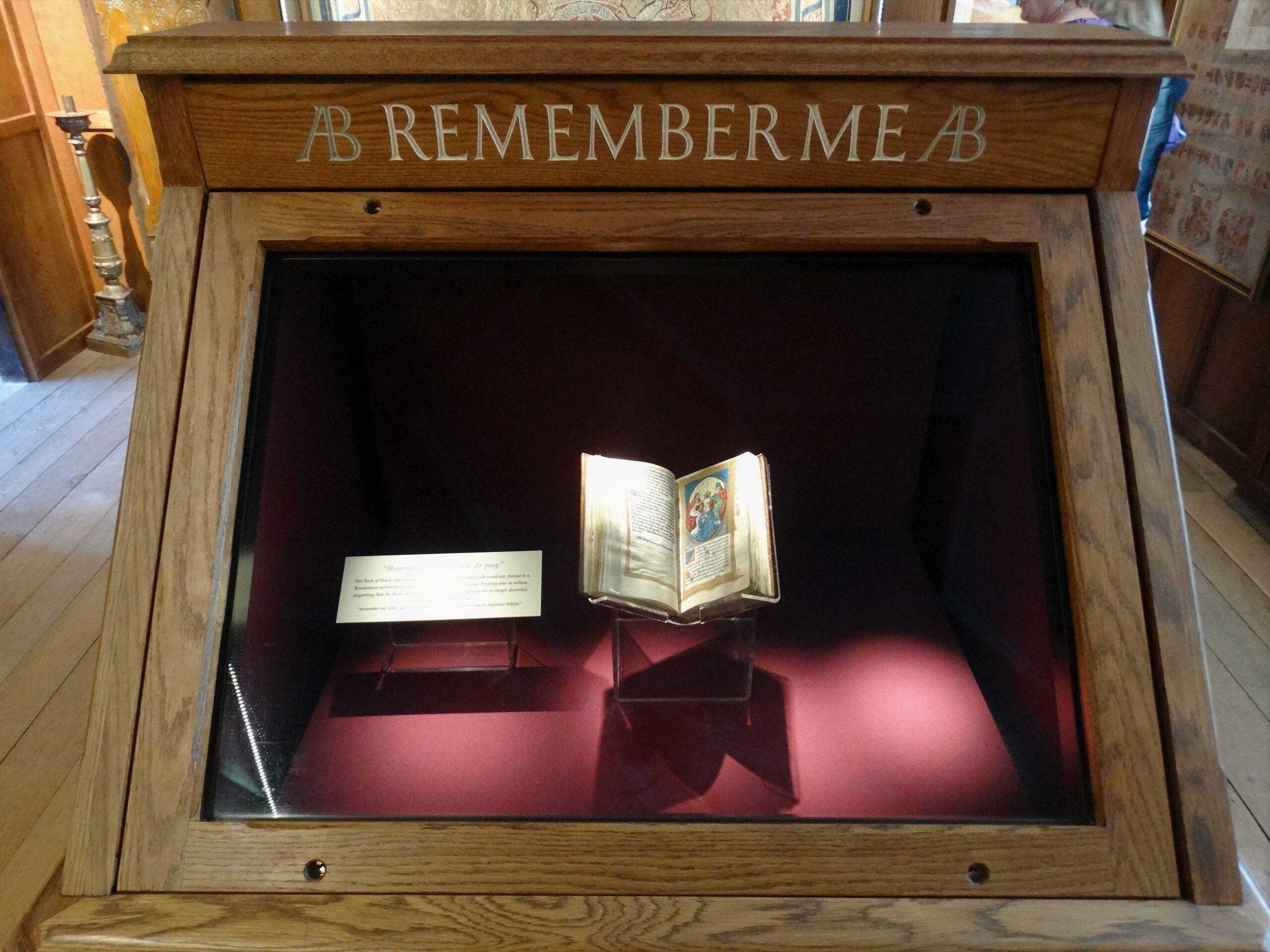Hever Castle – Anne Boleyn Prayer Book