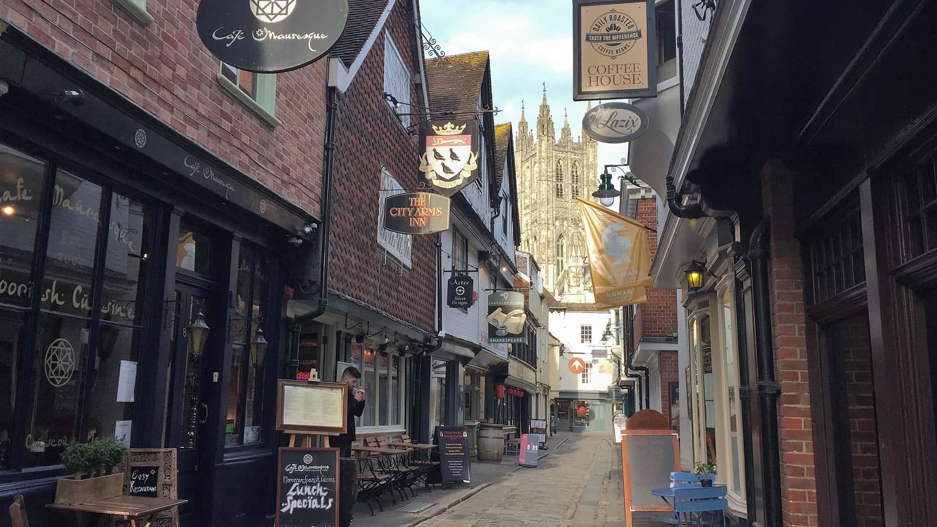 Streets of Canterbury Tour