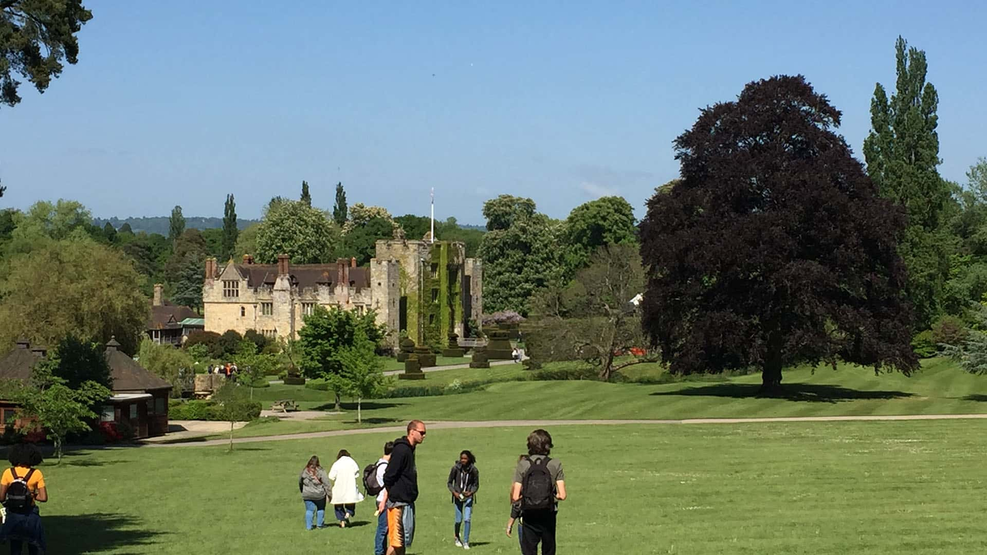 Hever Castle from a Distance