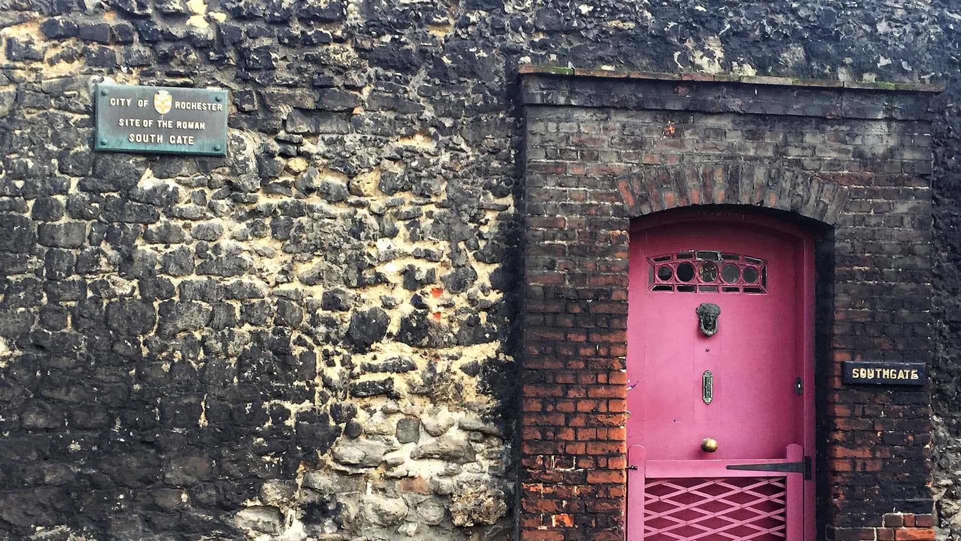 Rochester Castle South Gate