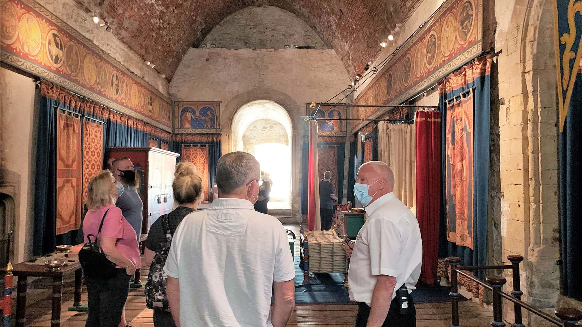 Inside Dover Castle