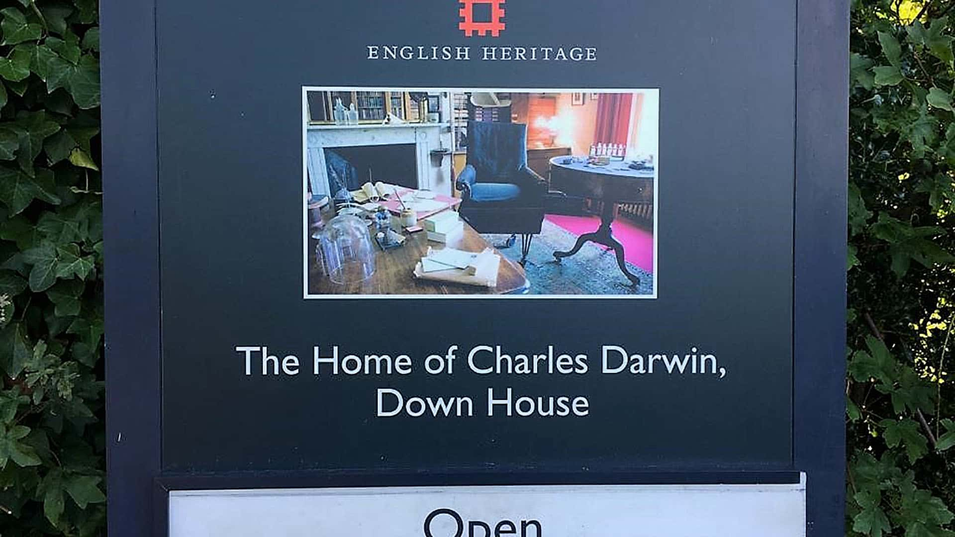 The Home of Charles Darwin, Down House