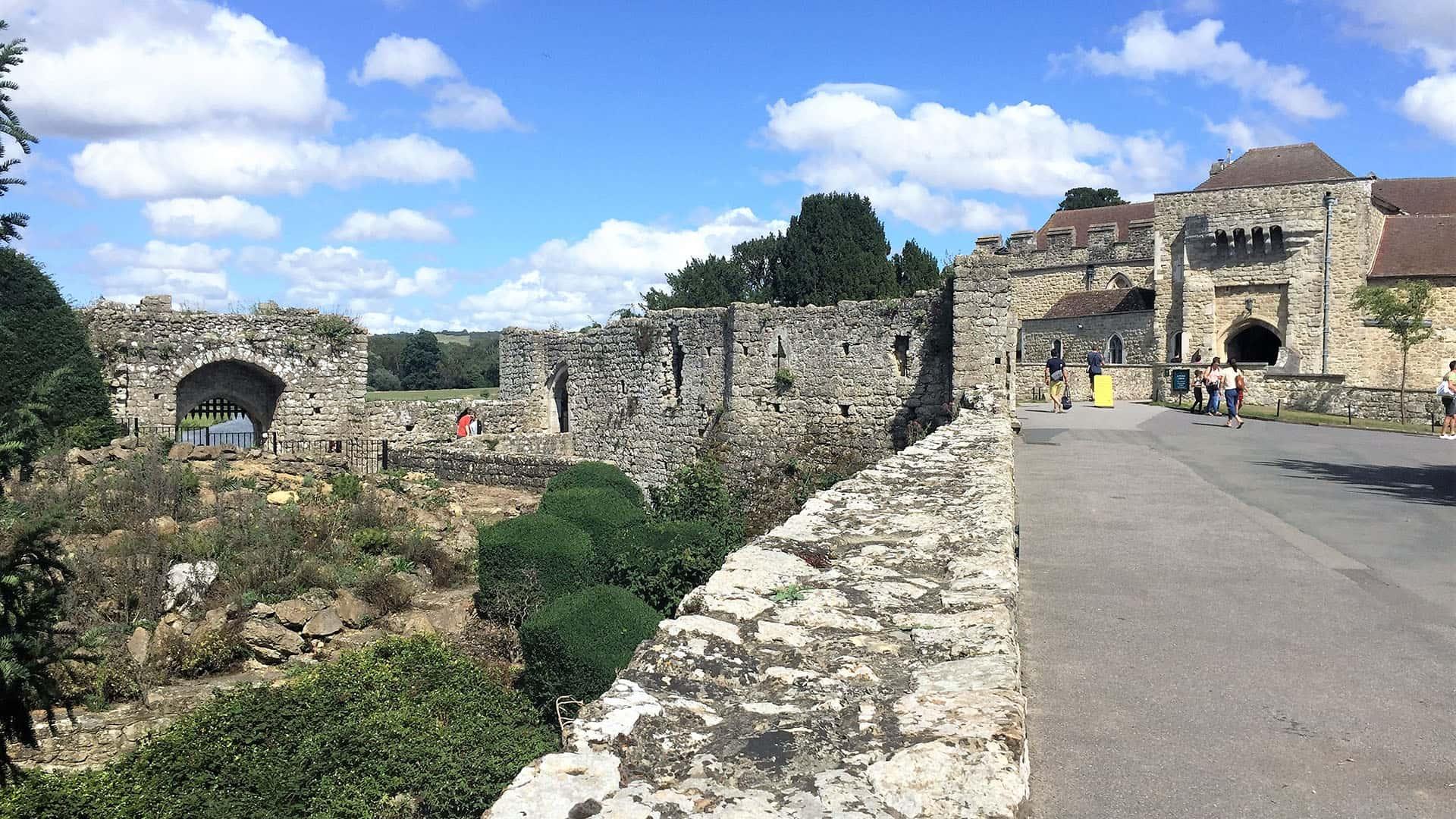 Ancient Walls of Leeds Castle