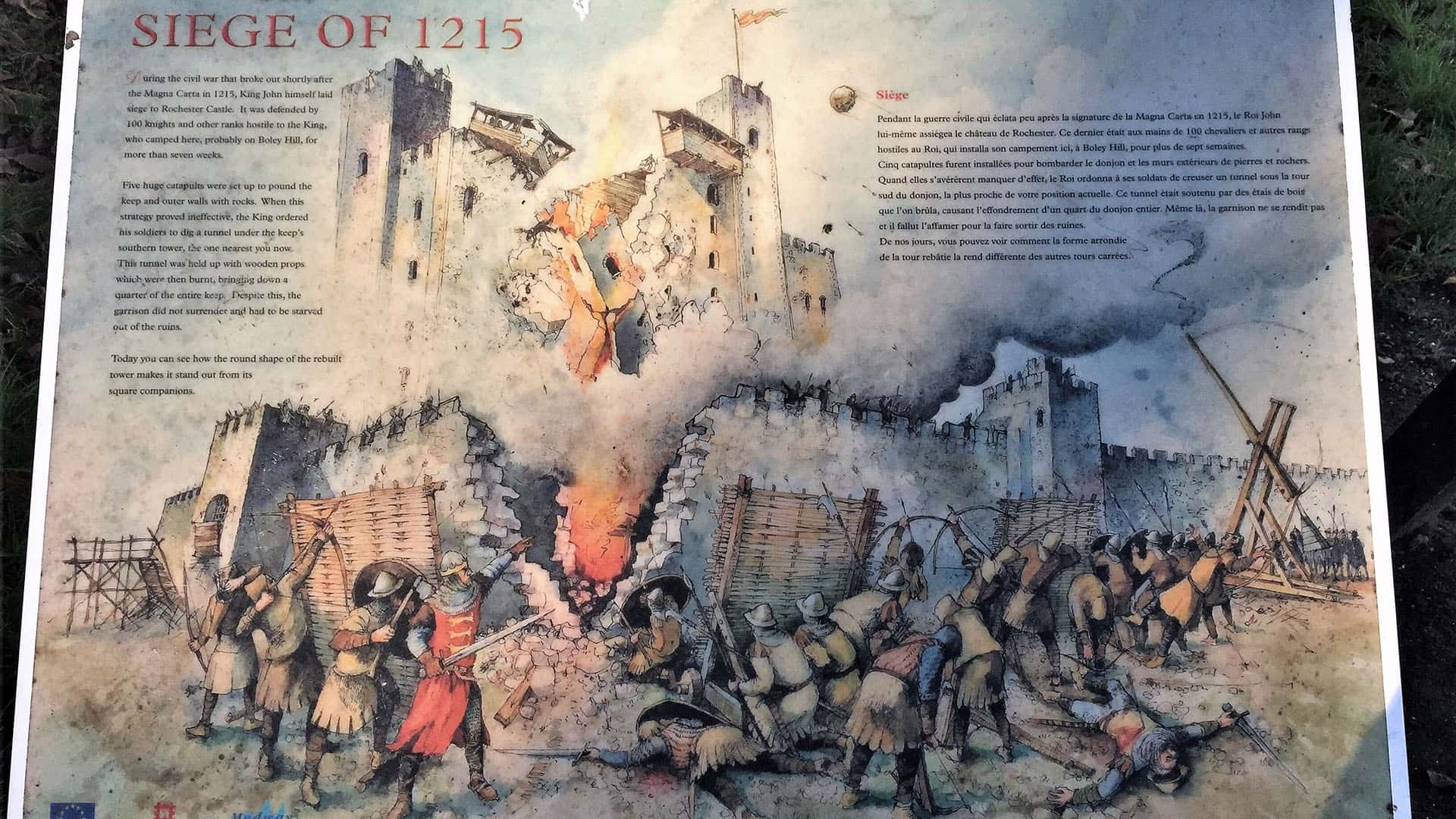 Rochester Castle – Siege of 1215