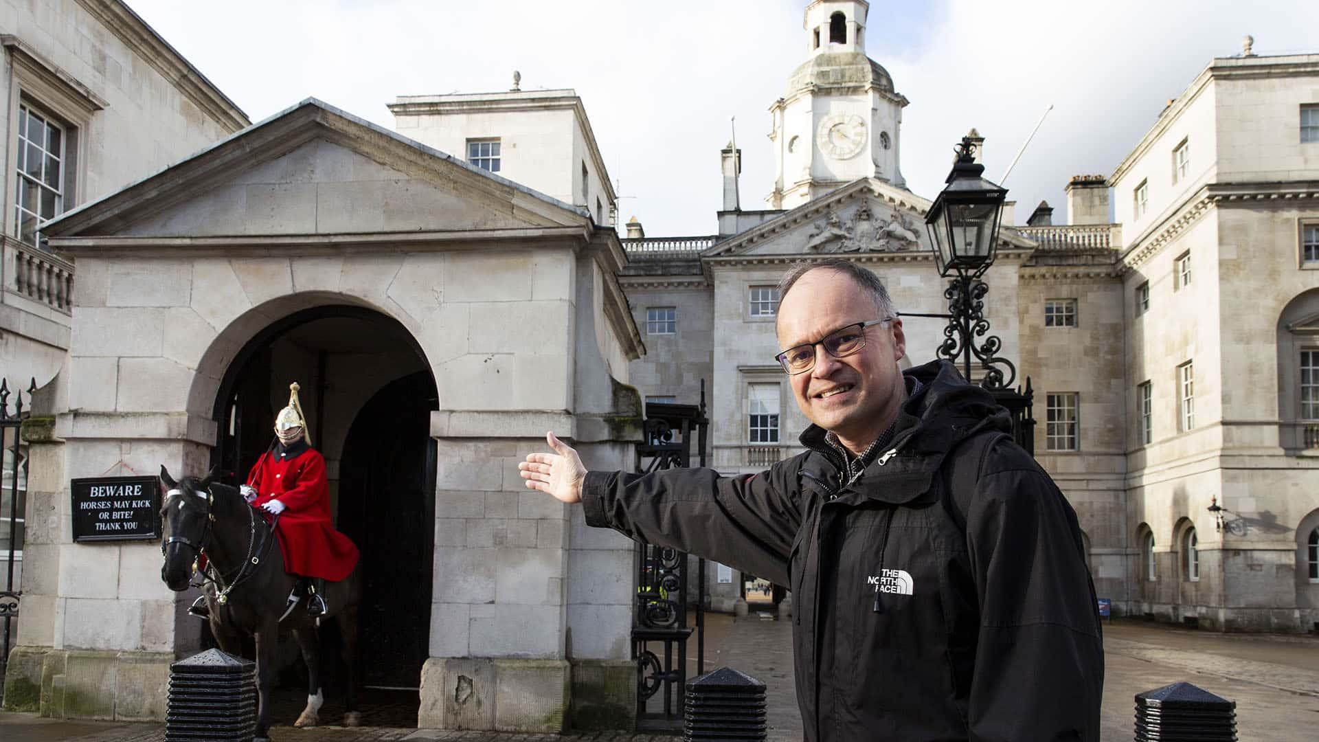 Guard on Horseback – The Crown London Tour