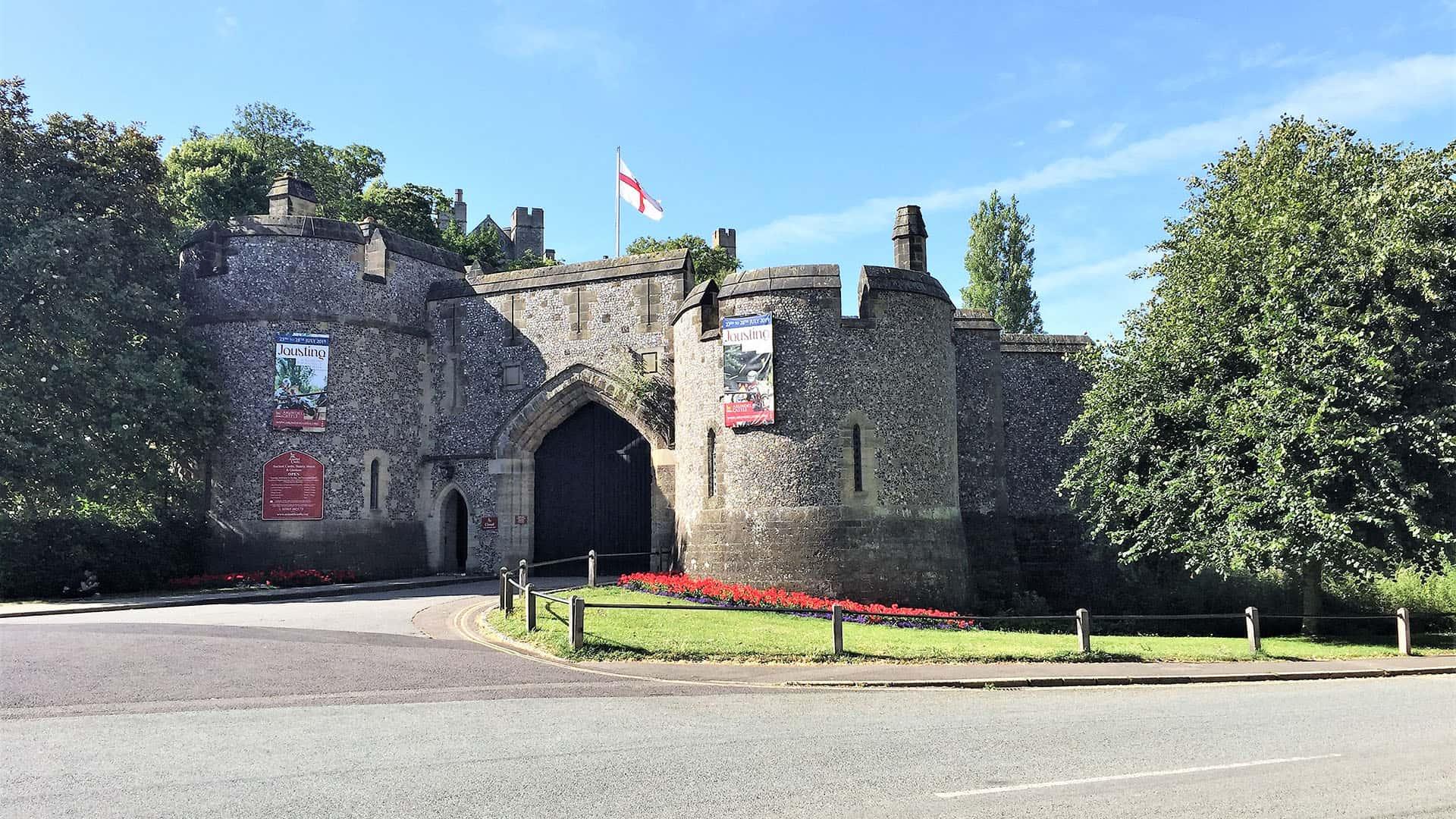 Arundel Castle Gate