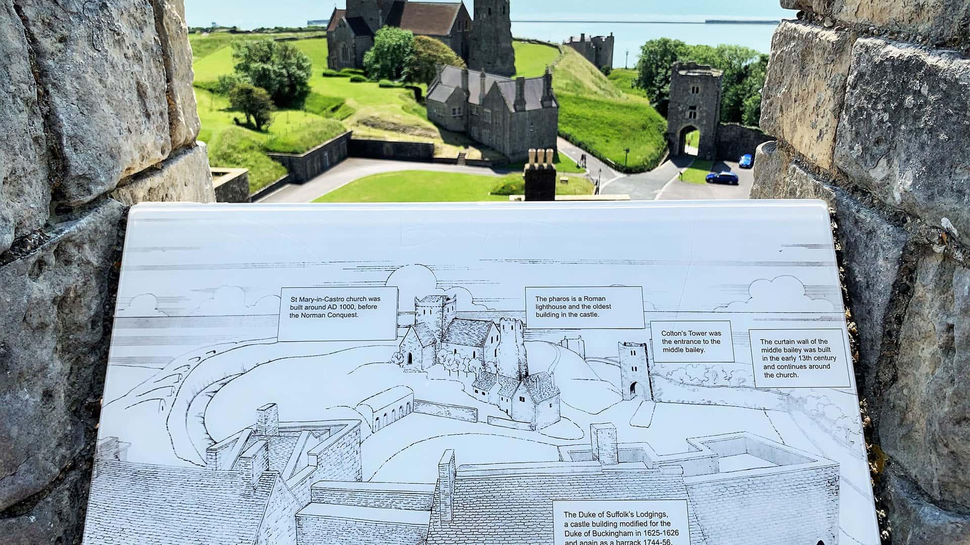 Views of Dover Castle