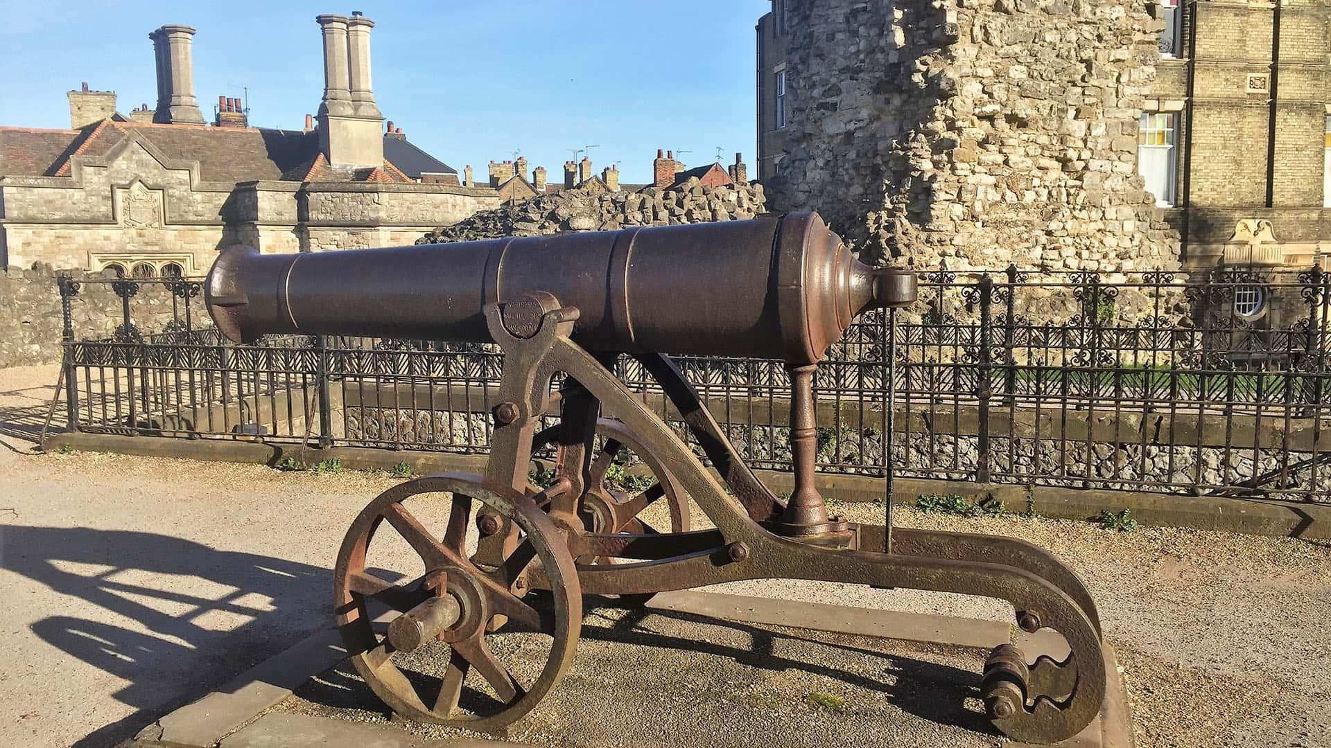 Rochester Castle Canon