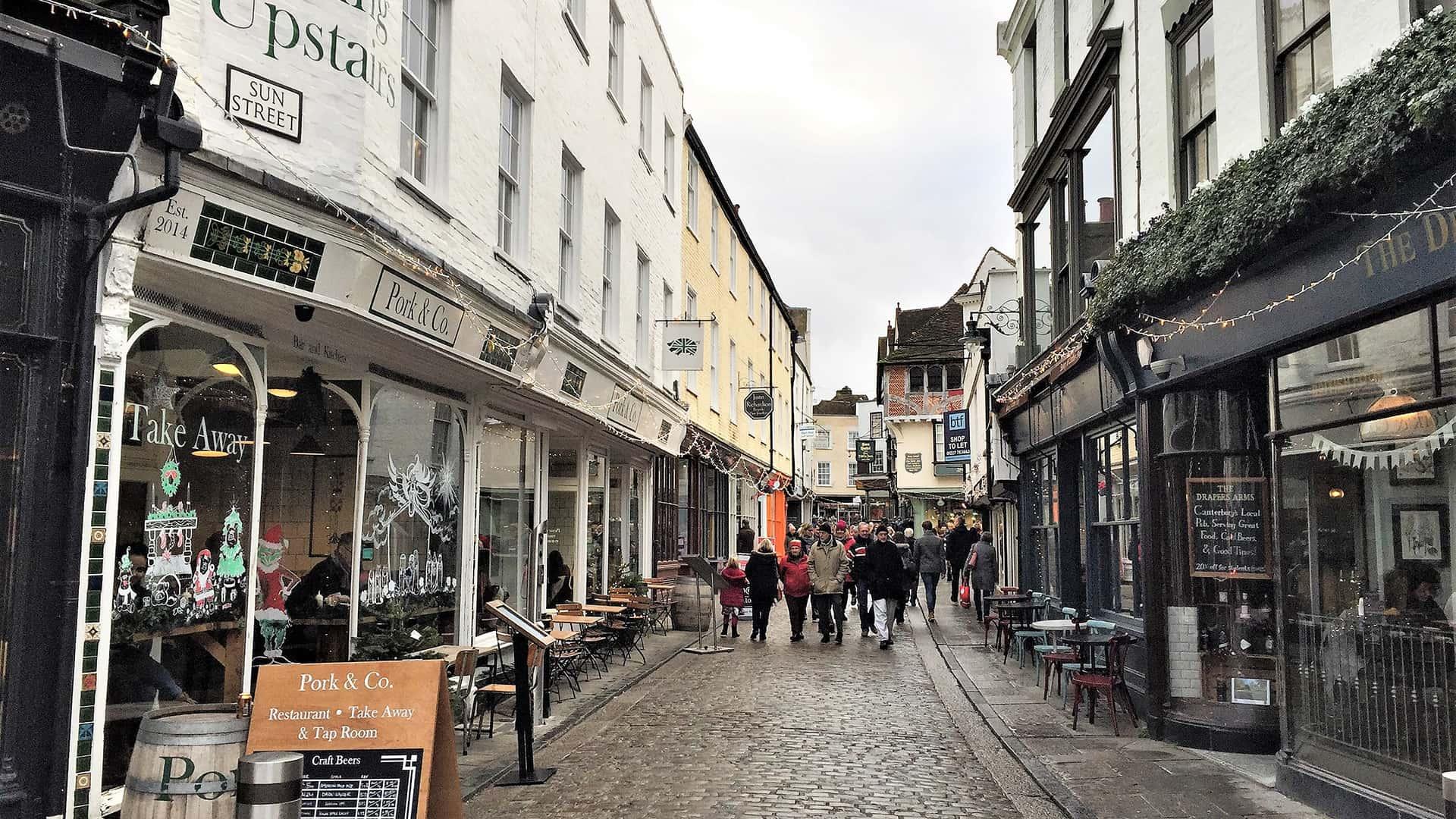 Street in Canterbury – Canterbury Tour