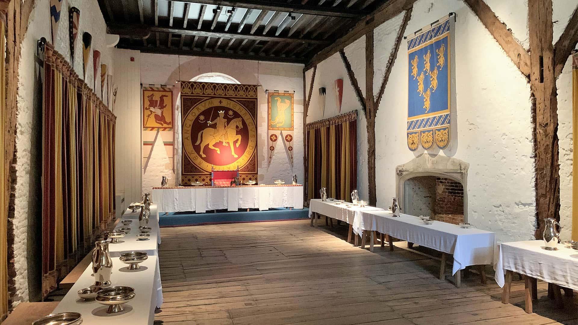 Dover Castle court