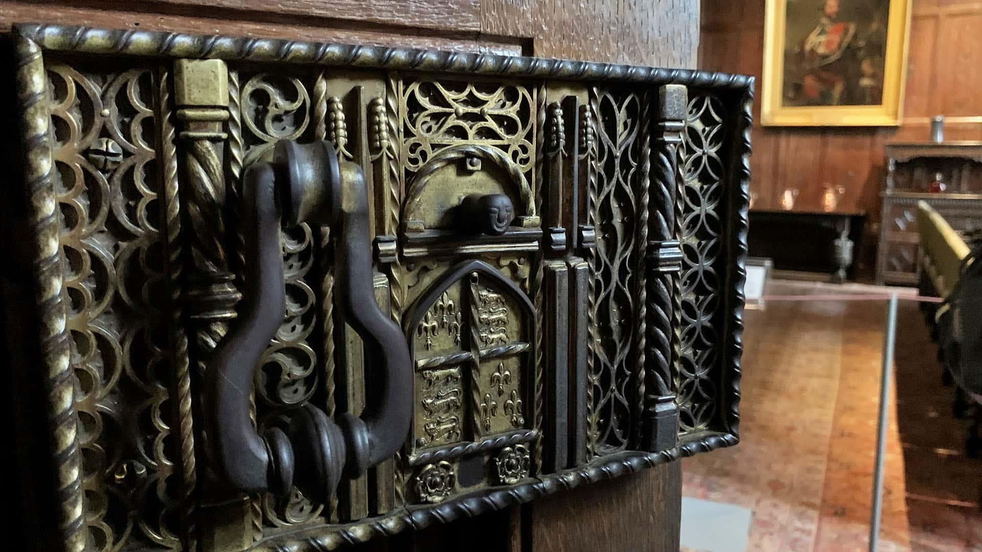 Hever Castle Door