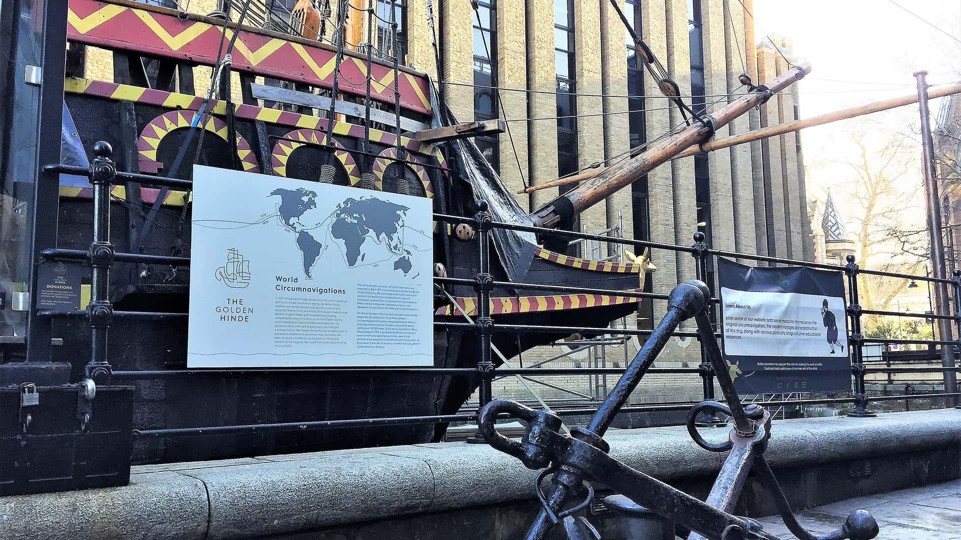 The Golden Hinde – London Virtual Tour