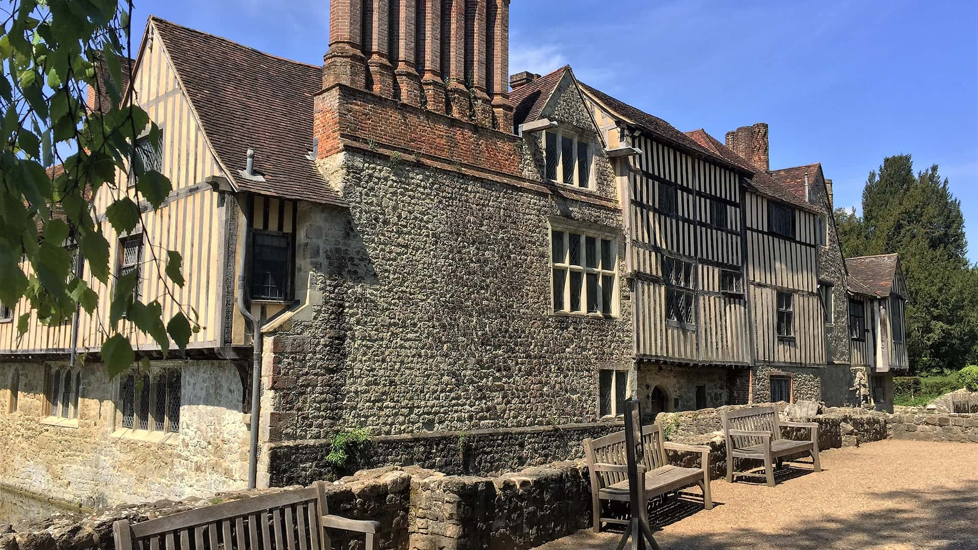 Ightham Mote's Medieval English Architecture