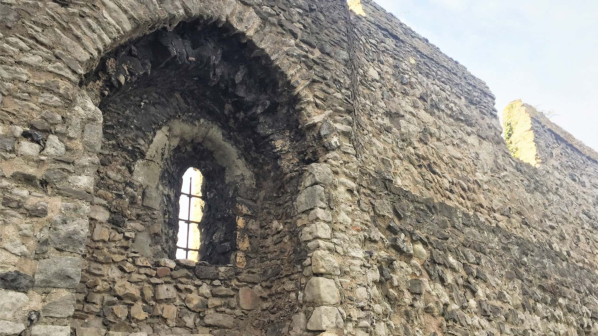 Rochester Castle Walls