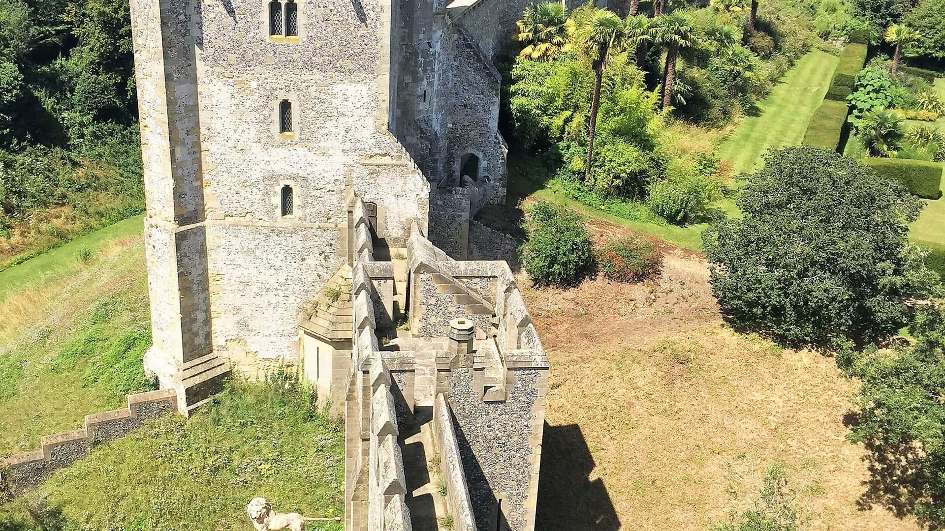 Arundel Castle Walls