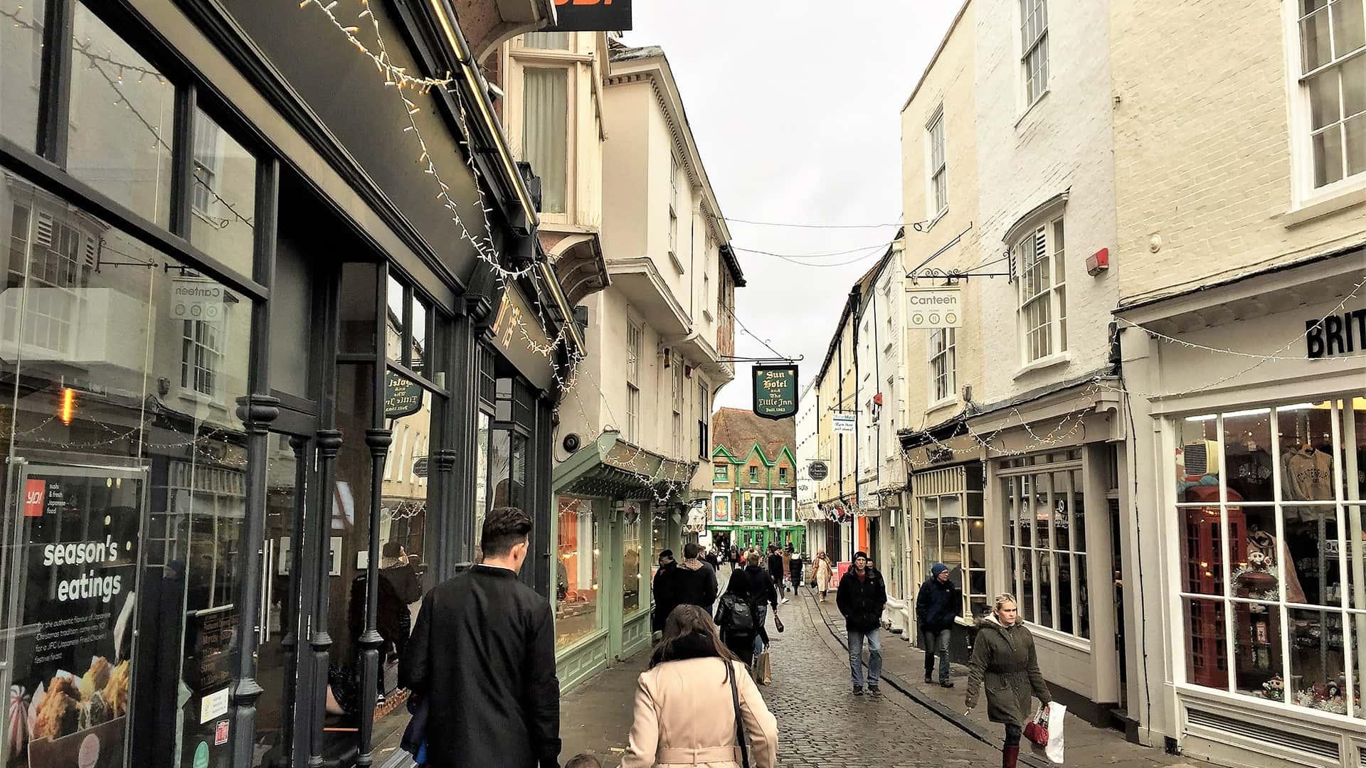 Canterbury Tour – Streets of Canterbury