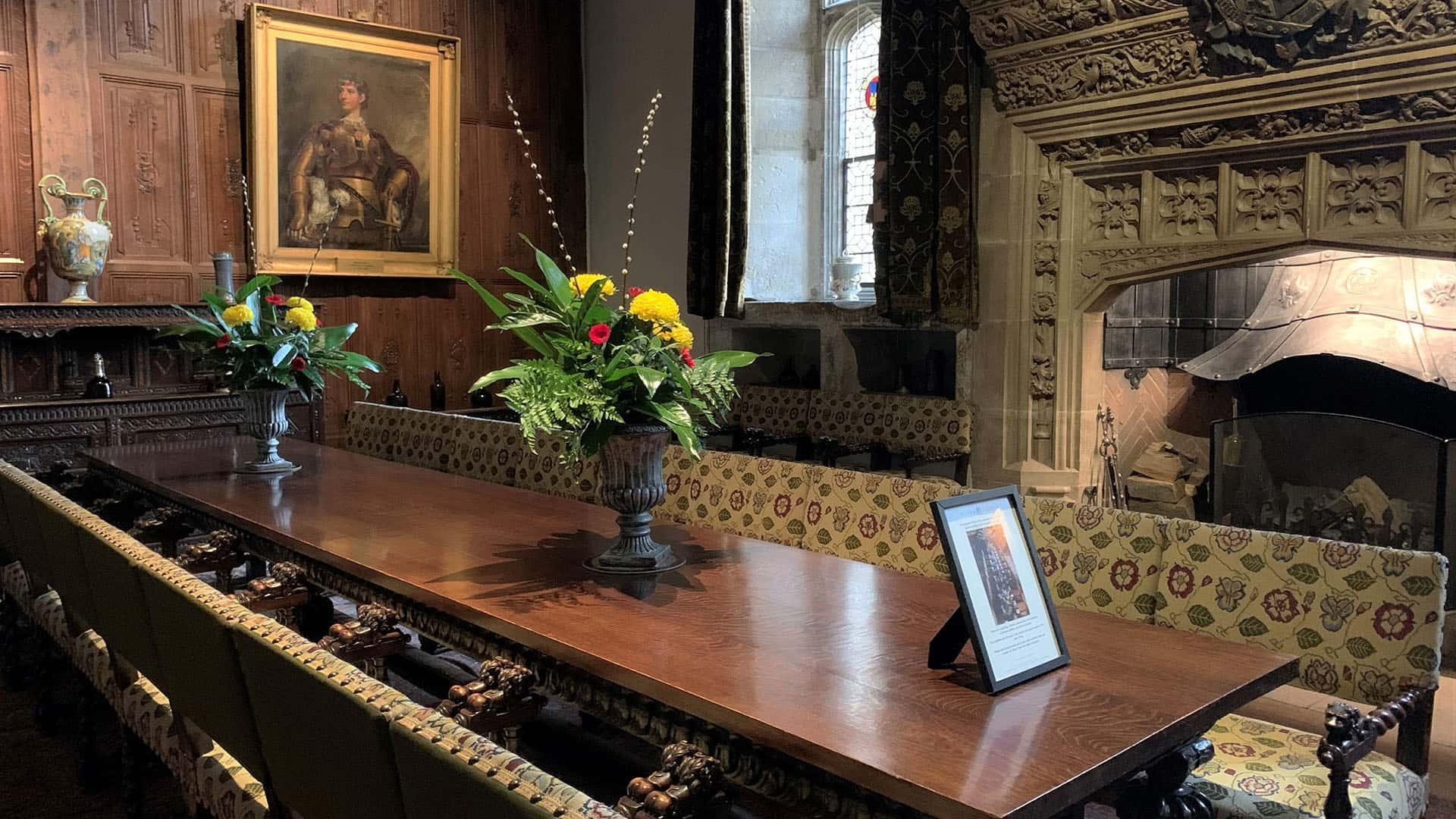 Hever Castle Interior Decor