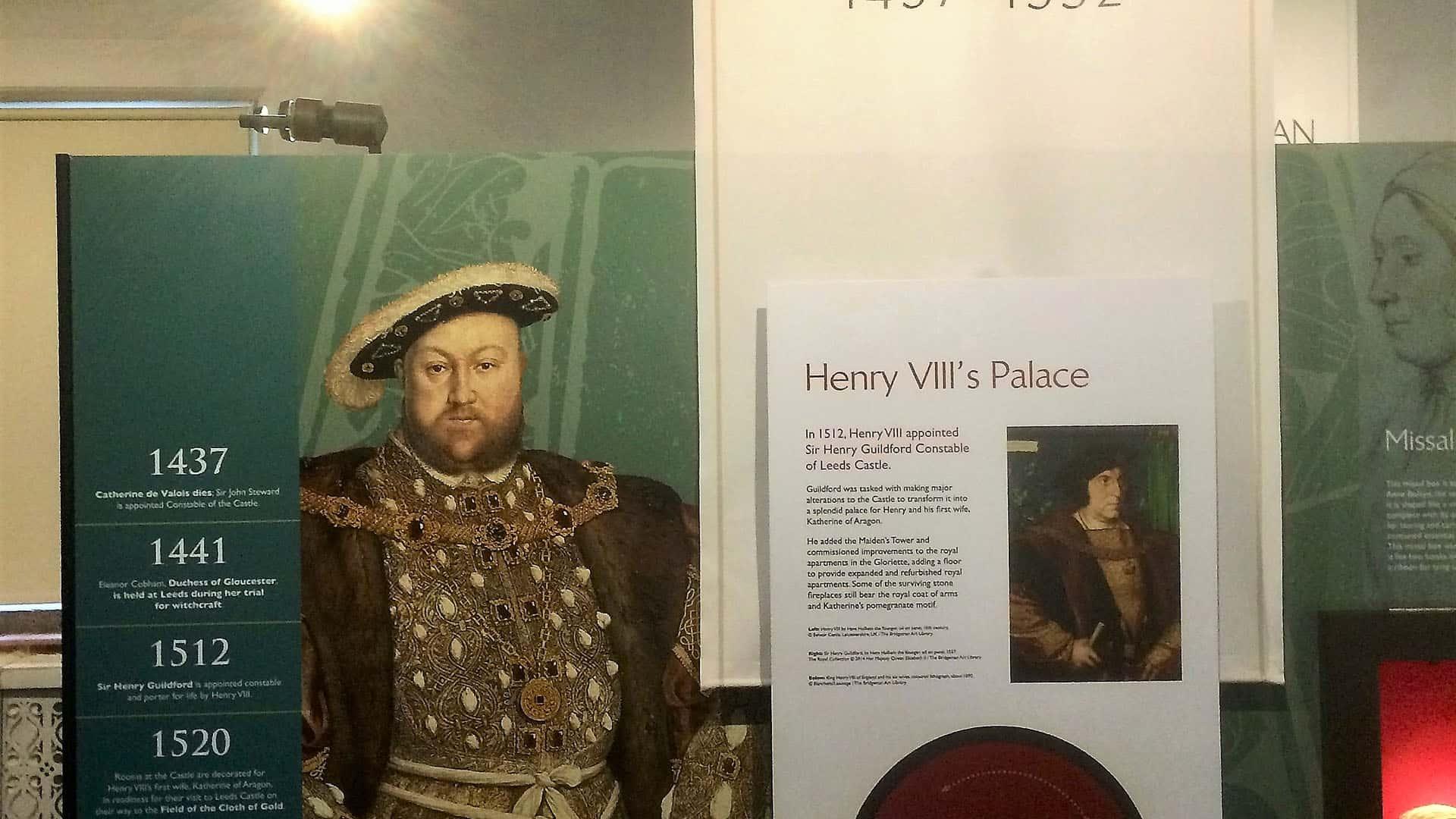 Henry VIII Exhibit – Leeds Castle