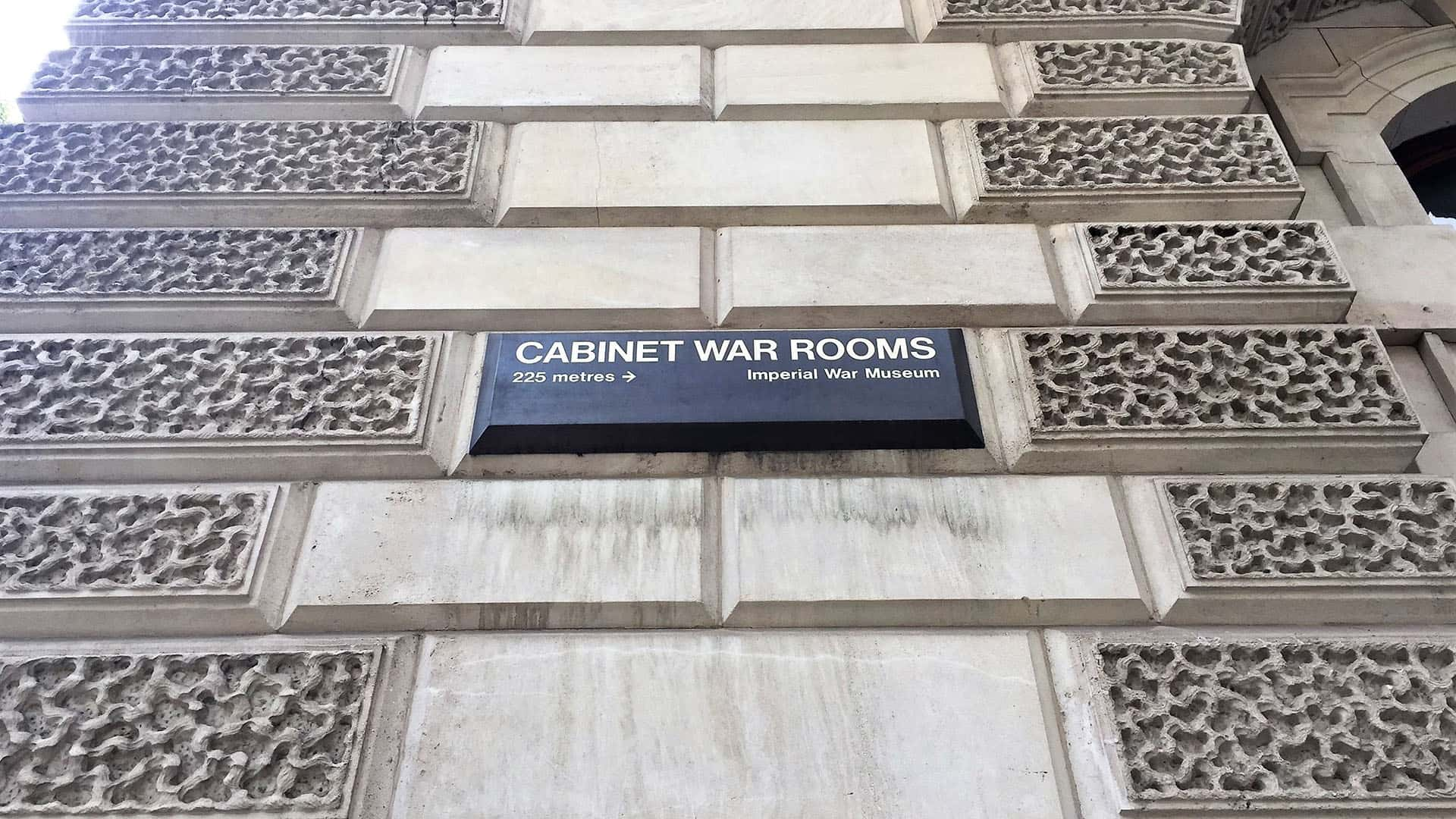 Cabinet War Rooms at the Imperial War Museum – The Crown London Tour
