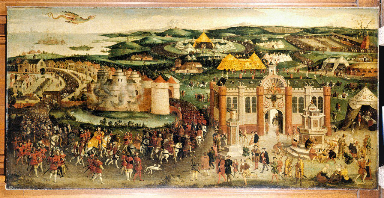 The Field of the Cloth of Gold c. 1545