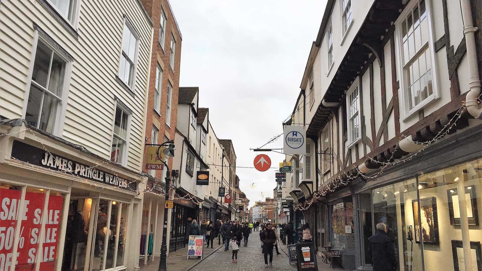 Canterbury Tour – Canterbury Street