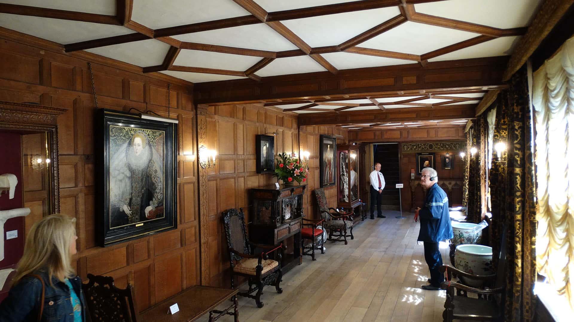 Hever Castle Interior Tour