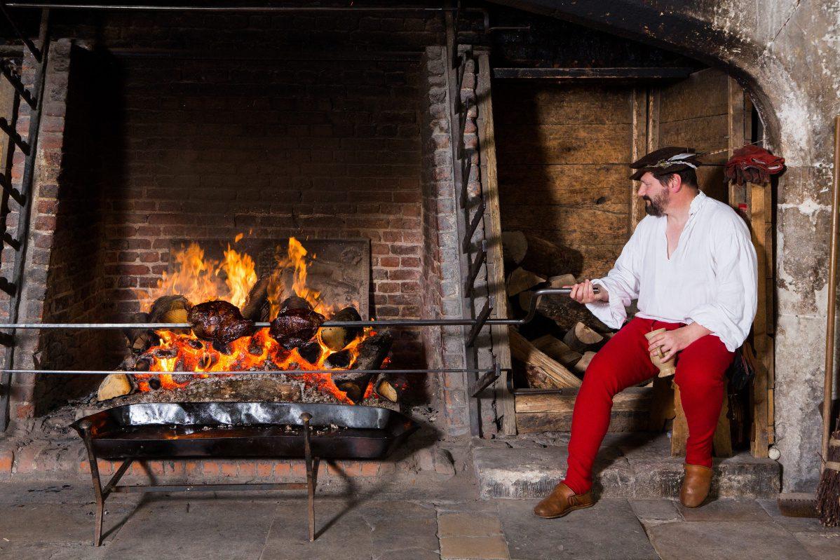 Historic Kitchen Staff at Hampton Court Palace