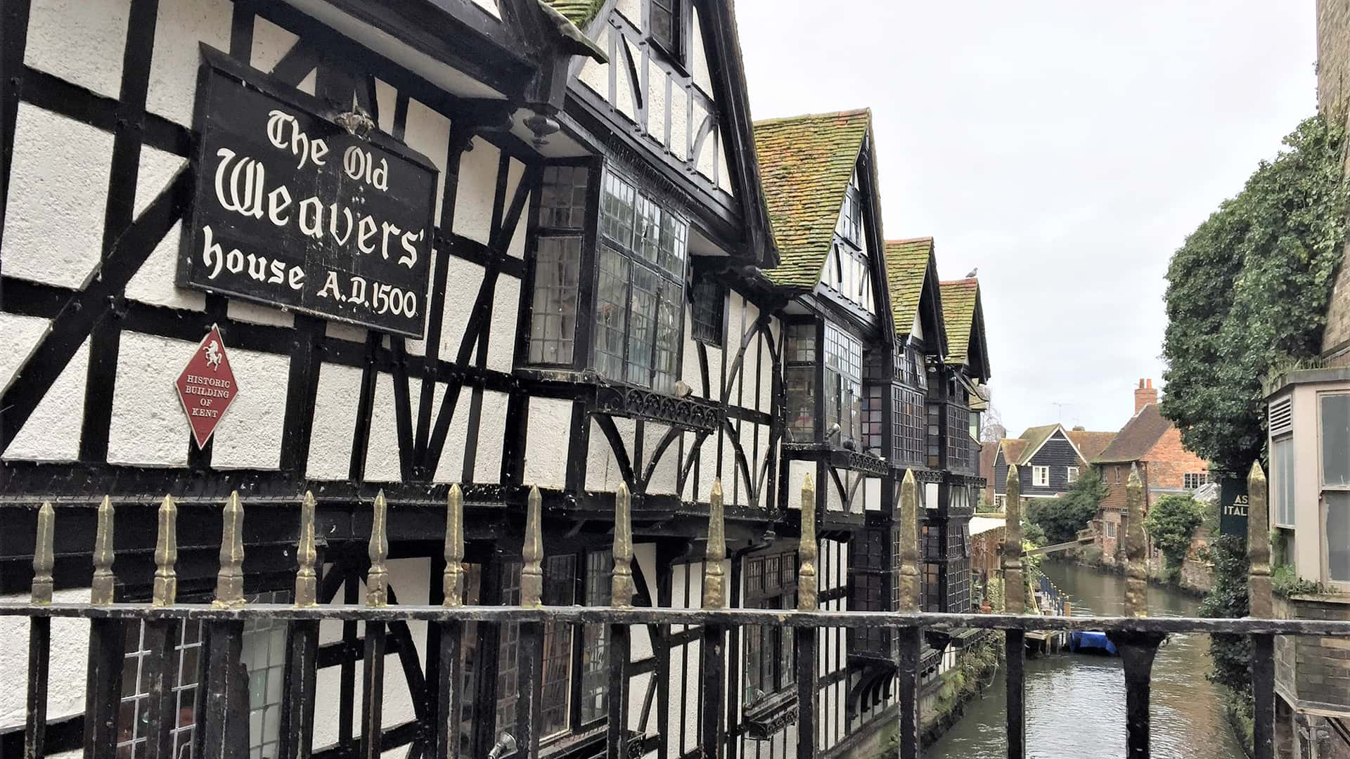 Canterbury Tour – The Old Weaver's House