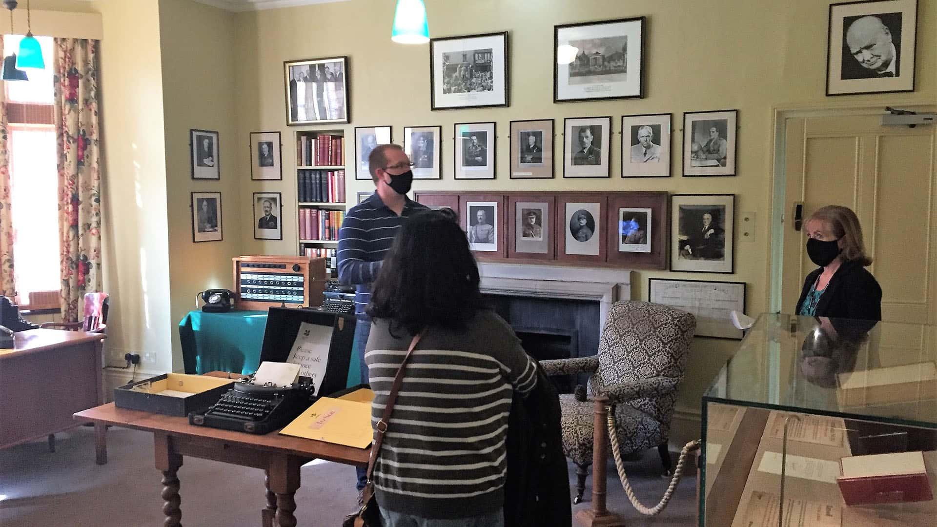 Chartwell – Churchill's study
