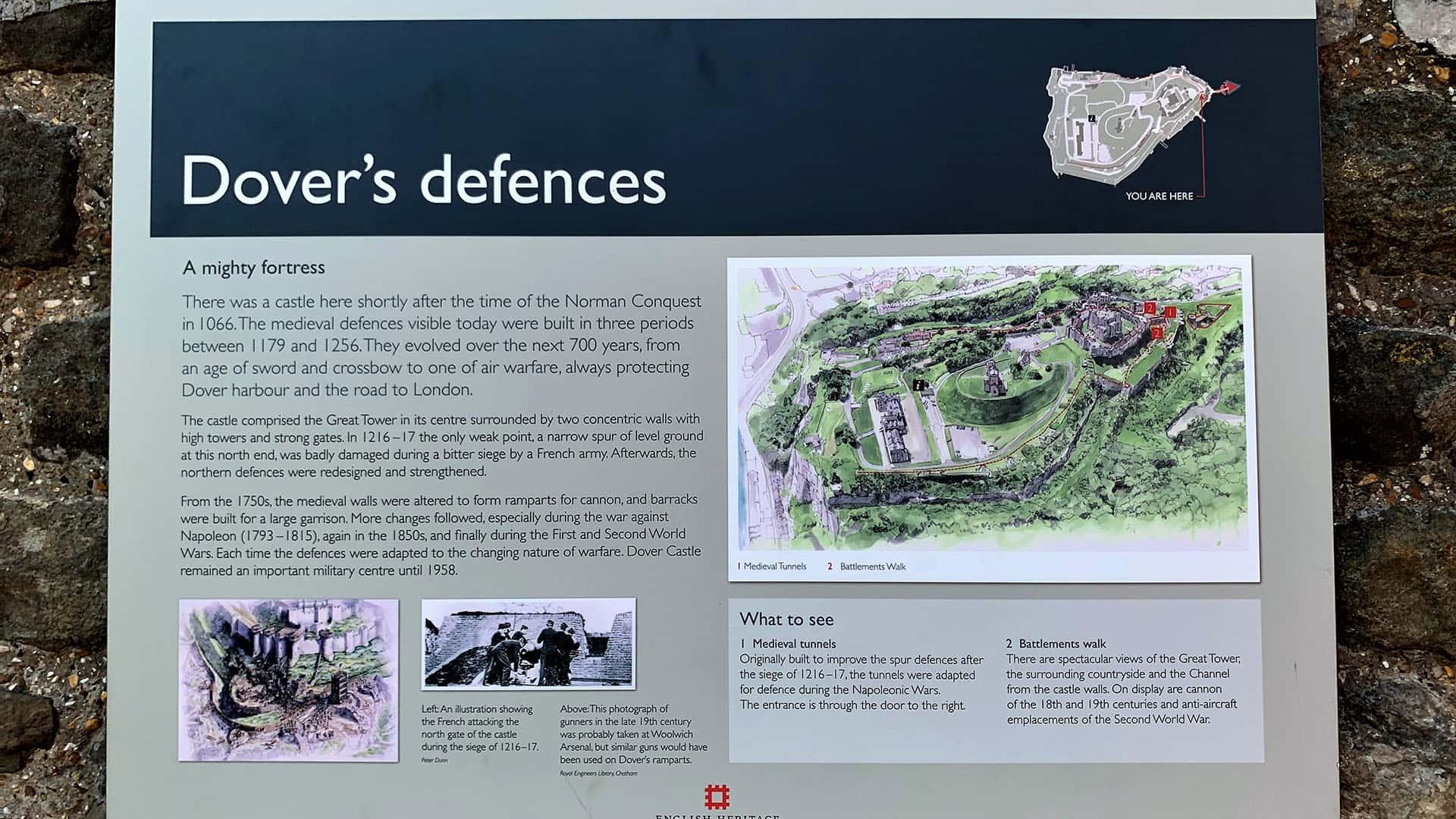 Dover Castle's Defences