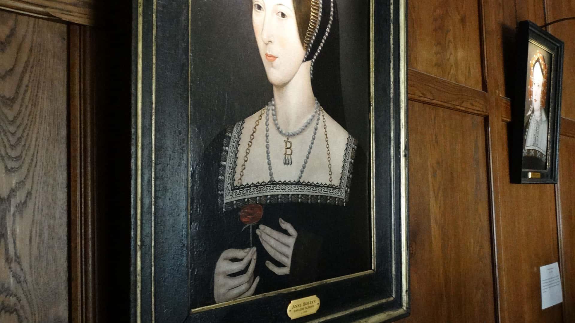 Hever Castle º Anne Boleyn Portrait