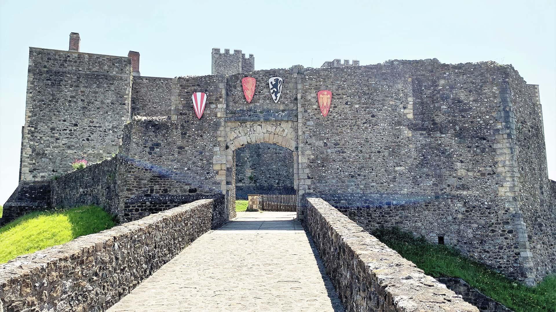 Bridge to Dover Castle