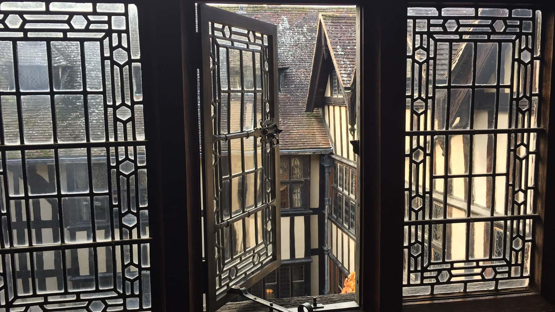 Hever Castle – Tudor Windows