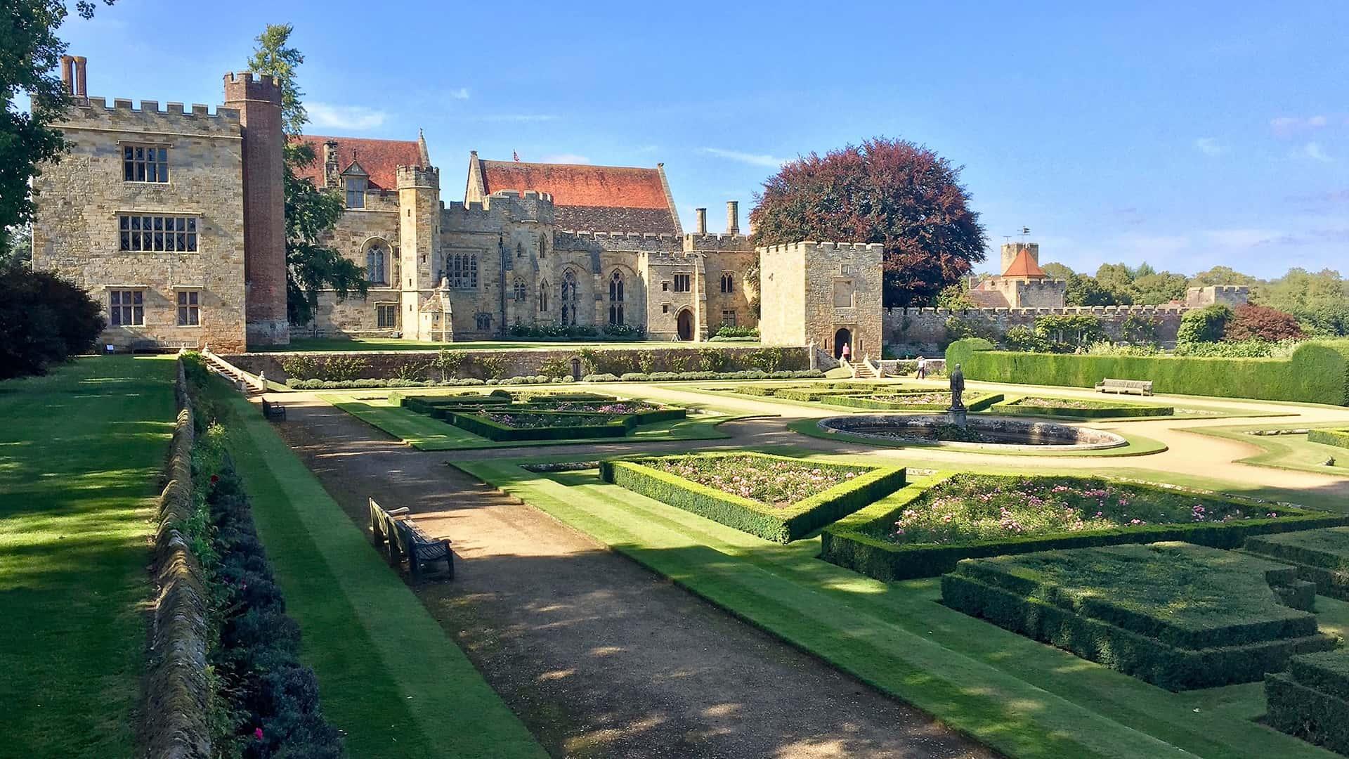 Stunning Gardens at Penshurst Place